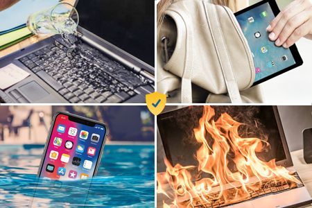 Cracked Screens, Fire, Water Damage Protection for Your Laptop, Smartphone and More