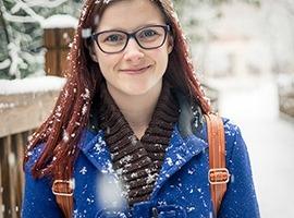 College Student on Winter Break