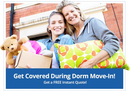 Dorm Room Move in Coverage