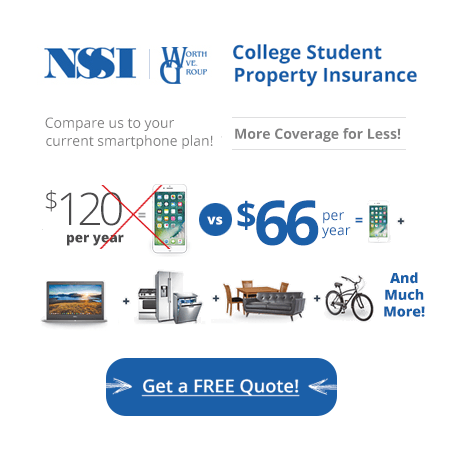 Get Affordable College Student Renter's Insurance