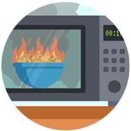 NSSI Sprinker Damage Fire