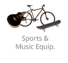 Sports & Music Equip