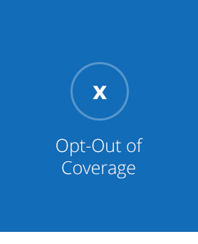 Opt-Out of Coverage